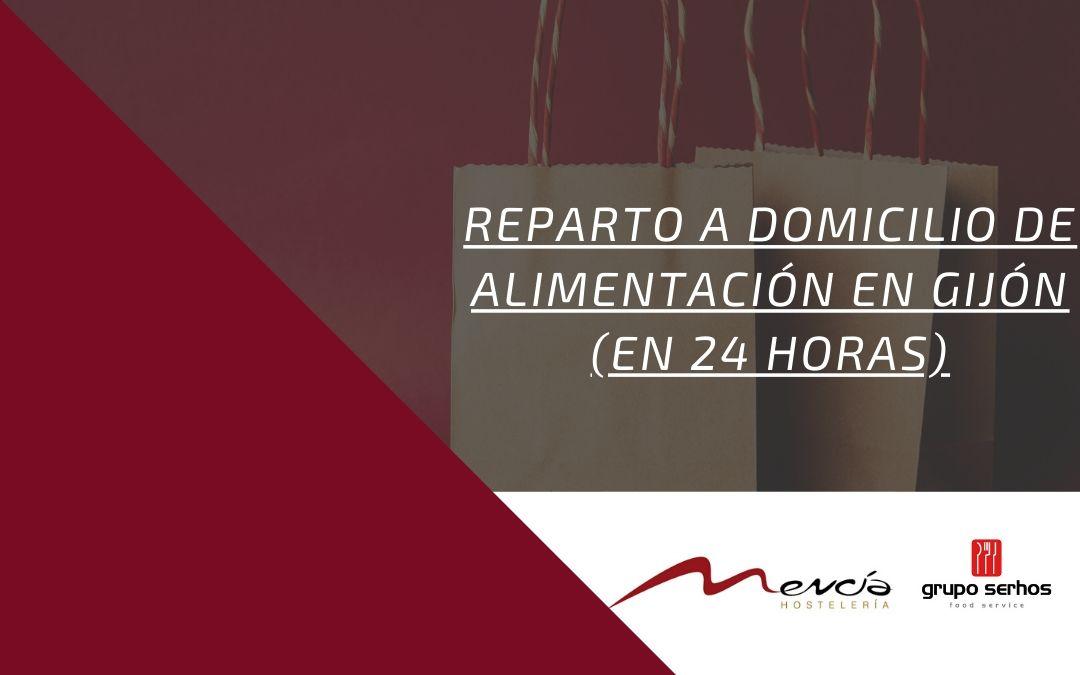 Reparto a domicilio en Gijón en 24 Horas