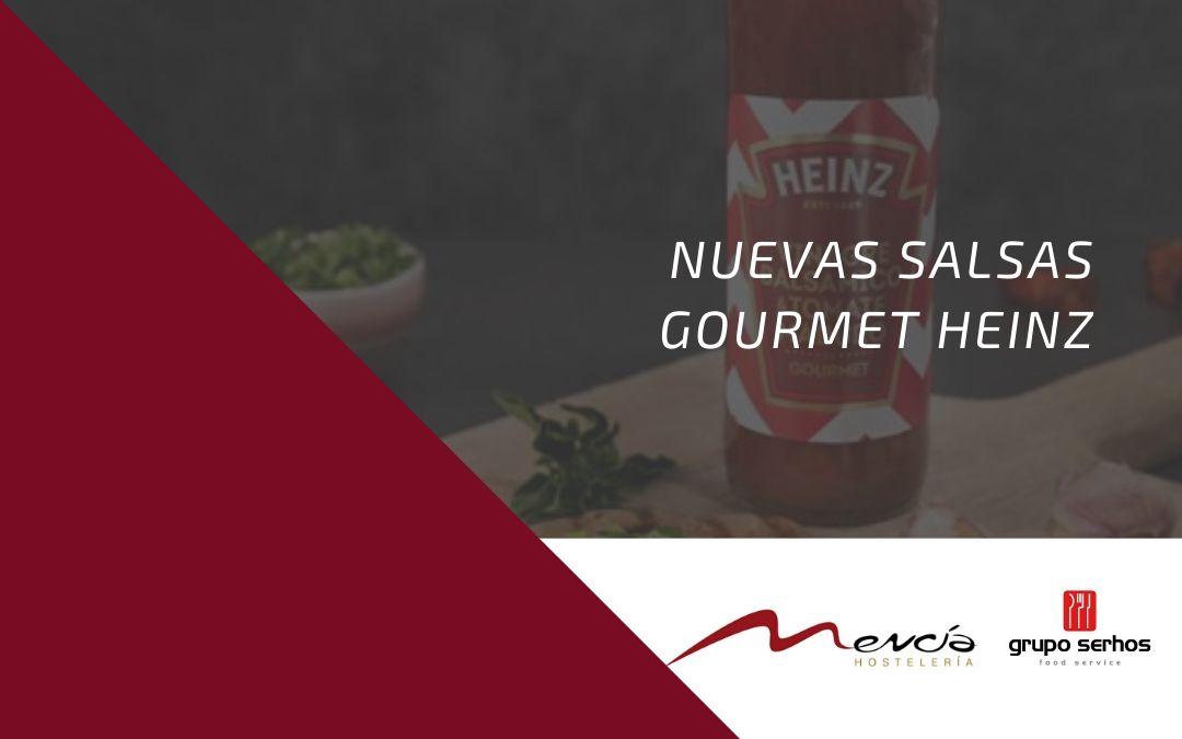 Nuevas salsas Heinz gourmet para disfrutar